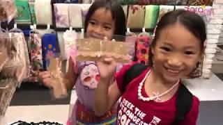Belanja Pernak Pernik Anak Perempuan Cara Zara menjamu Saudara