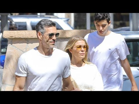Eddie Cibrian And LeAnn Rimes Out in Malibu With His Grown Up Boys