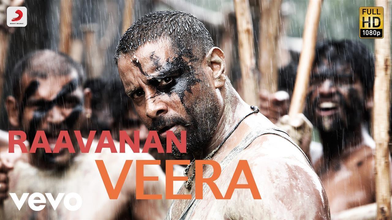 Download Raavanan - Veera Tamil Lyric   A.R. Rahman   Vikram, Aishwarya Rai