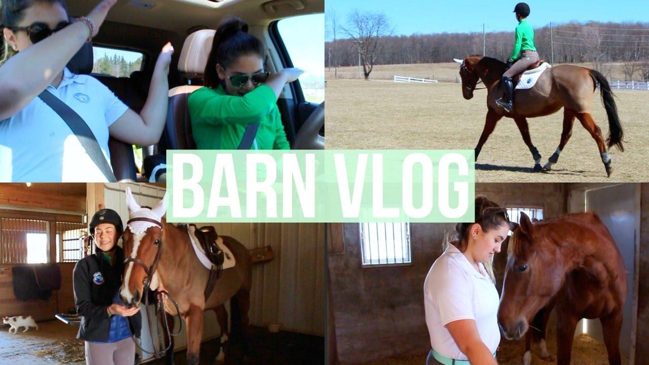Barn Vlog #1 | Equestrian Prep