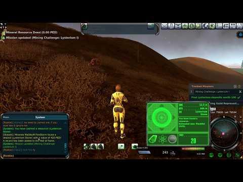 Entropia Universe - mining fast HOF