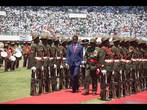 Zambia's president elect inaugurated