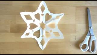 How to make a 6 sided SNOWFLAKE