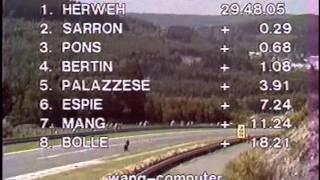 Moto GP 250 1984 - GP09 - Spa Belgique (Fr).avi