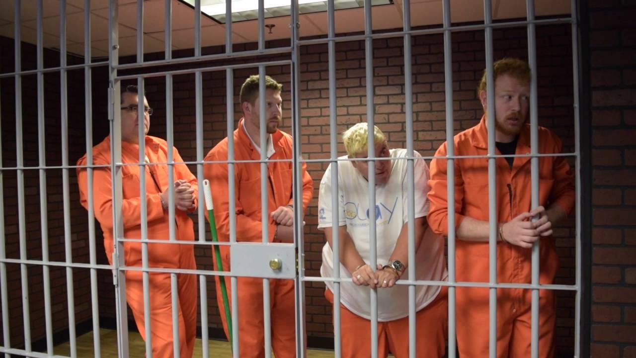 Mix 108 Staff Try To Escape Prison At Ze Ro Hour Escape