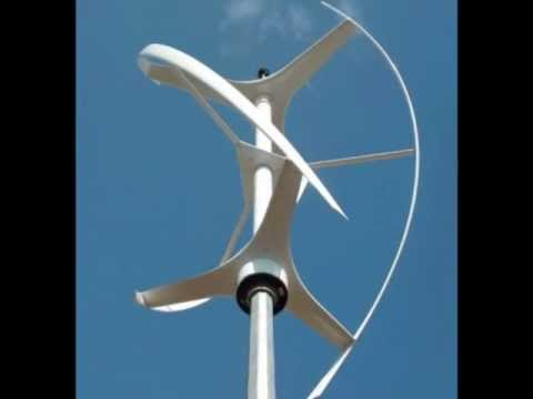 4 Most Popular Vertical Wind Turbines Youtube