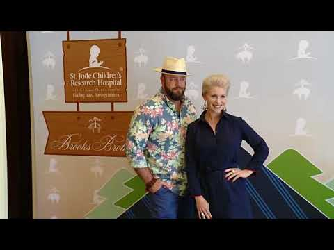 EVENT CAPSULE CLEAN - Brooks Brothers Beverly Hills hosts summer camp themed party to benefit St. Ju