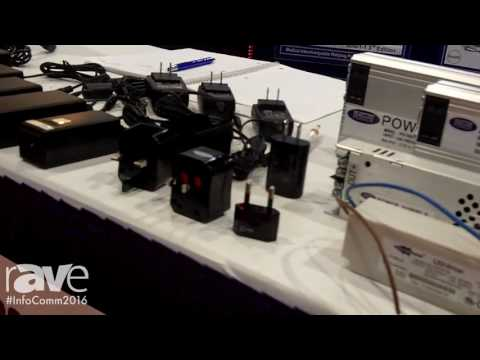 InfoComm 2016: SCEPTRE POWER Showcases Power Supplies for Audio Video Equipment