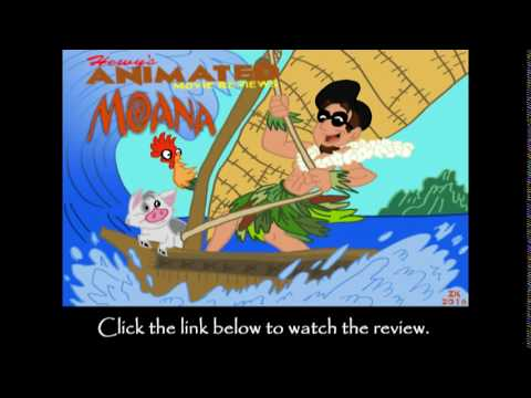 Hewy's Animated Movie Reviews #78 Moana Trailer