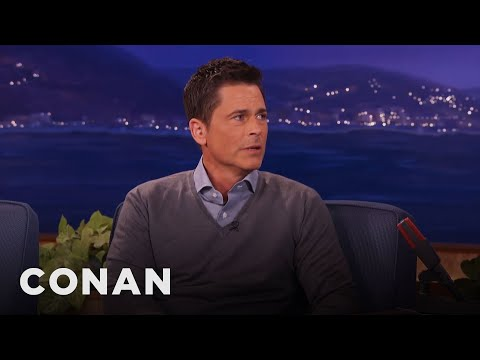 Donald Trump: Rob Lowe Is The Most Beautiful Man I've Ever Seen  - CONAN on TBS