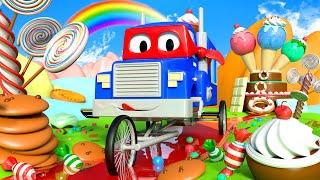 xe tải xe đạp - Siêu xe tải Carl 🚚⍟ l những bộ phim hoạt hình về xe tải dành cho thiếu nhi