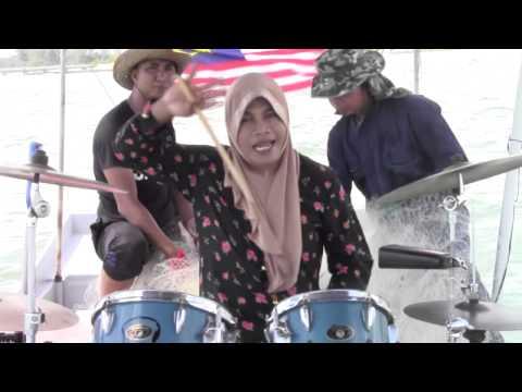 Dayangku Intan - Senadung Hari Raya Untukmu Drum Cover by Wann Zeen