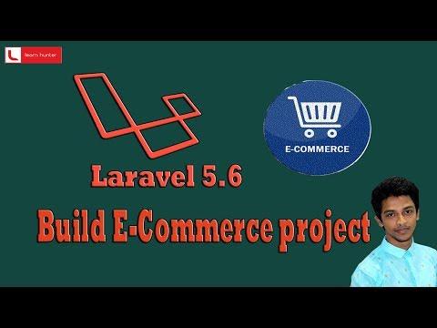E-commerce project by laravel 5.6 part-2 (Database design)