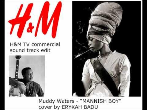 Erykah Badu - Mannish Boy cover (fan edit job from H&M tv commercial)