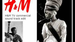 Erykah Badu - Mannish Boy cover (fan edit job from H&M tv commercial)