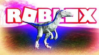ROBLOX PLAY AS BLUE THE RAPTOR JURASSIC WORLD