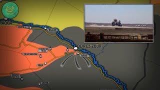 8 сентября 2017. Военная обстановка в Сирии. США обвиняются в эвакуации полевых командиров ИГИЛ.