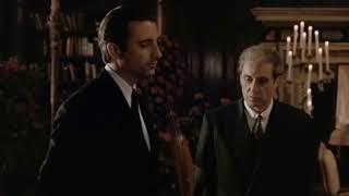 Escena de Vincent Mancini asumiendo como el nuevo Padrino: Don Vincenzo Corleone