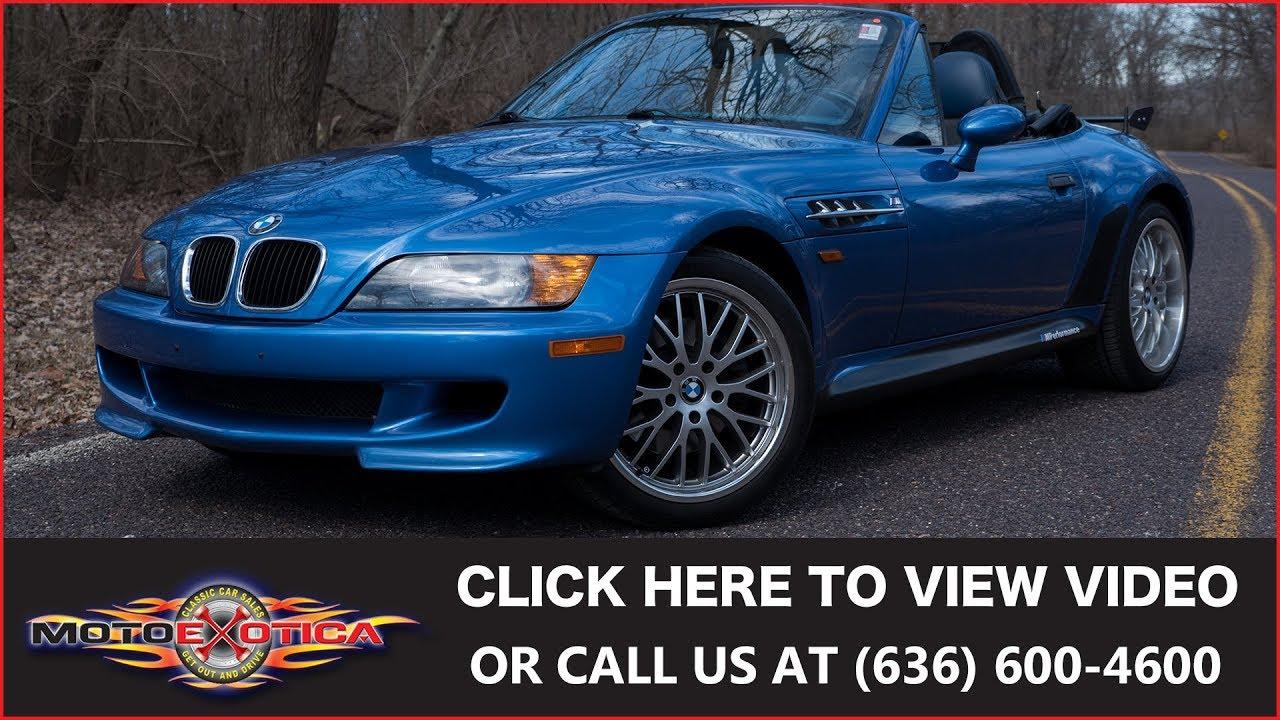 1998 bmw z3 m roadster sold [ 1280 x 720 Pixel ]