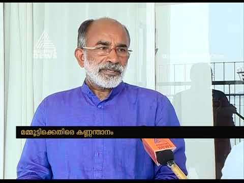 """"""" Mammootty showed  immaturity in his comment """" says NDA Candidate Alphons Kannanthanam"""