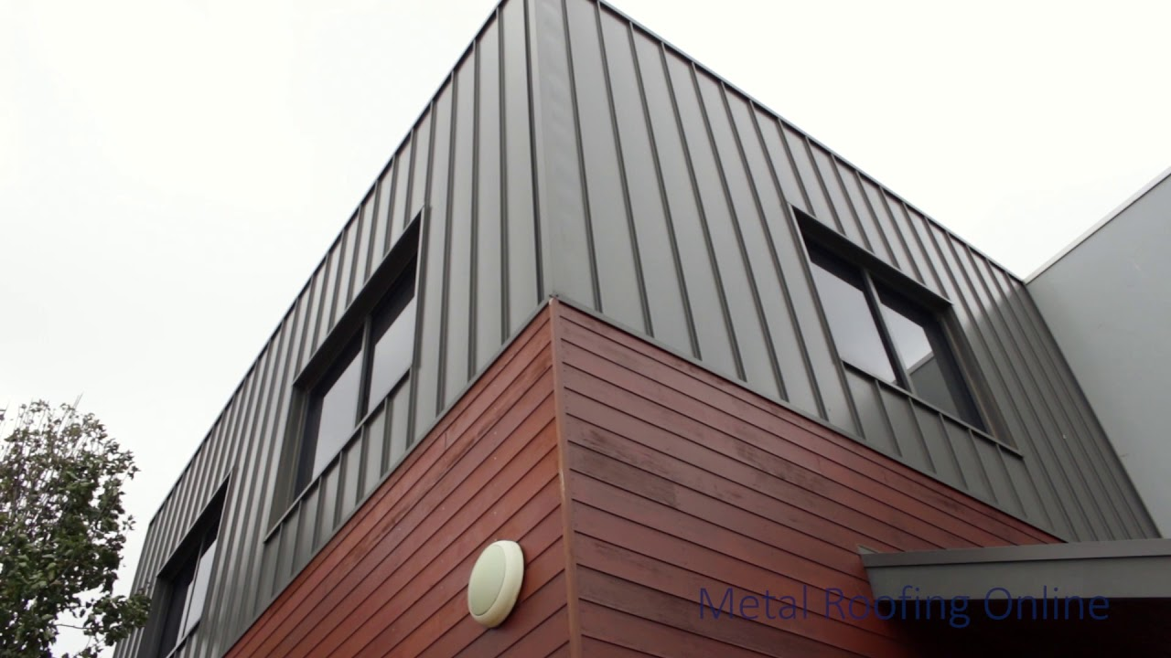 Colorbond Standing Seam Cladding 330 Wide Metal Roofing Online