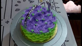 BASKET CAKE DECORATION