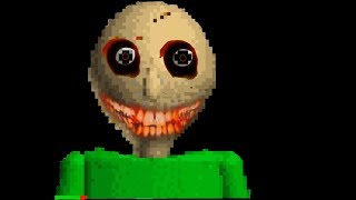 RUNNING FROM BALDI!! - Baldi's Basics in Education and Learning - Horror Game