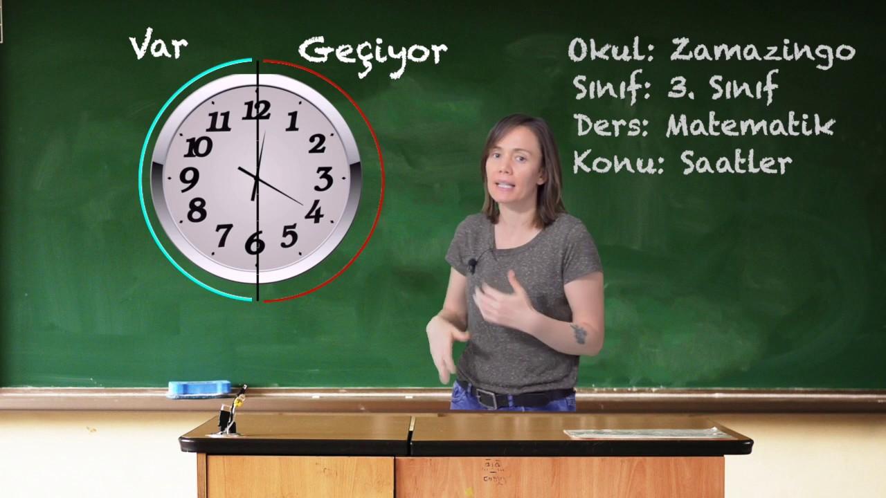 3.Sınıf Matematik Saatleri Okuma Geçiyor Konu Anlatımı
