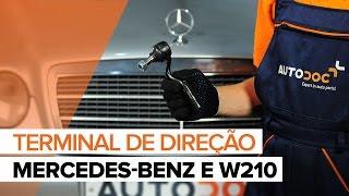 Mercedes W210 - lista de reprodução de vídeos sobre a reparação de automóveis