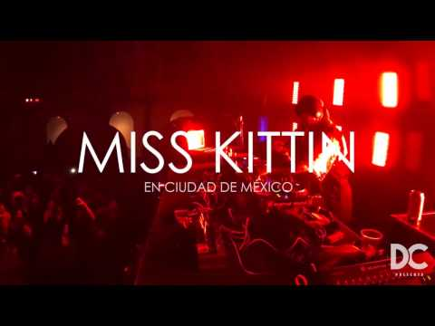 DC Presenta MISS KITTIN en Ciudad de México