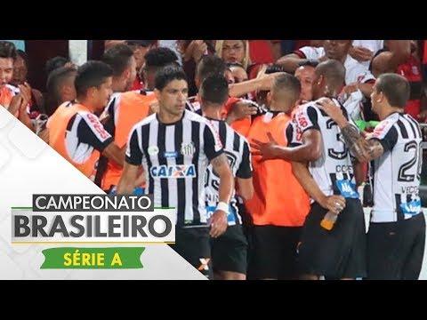 Melhores Momentos - Flamengo 1 x 2 Santos - Campeonato Brasileiro (26/11/2017)