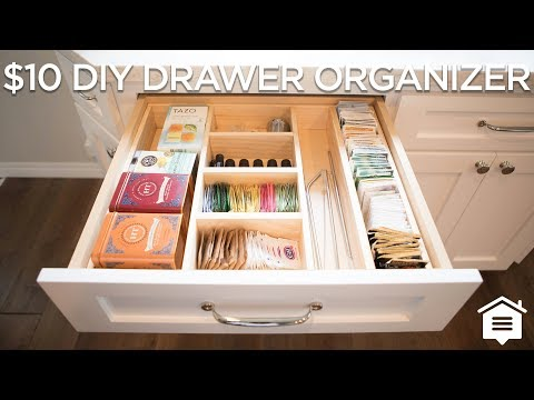 $10 DIY Drawer Organizer | How to Build