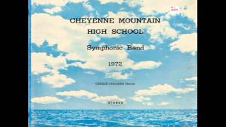 Cheyenne Mountain High School Symphonic Band 1972 - Popcorn Thumbnail