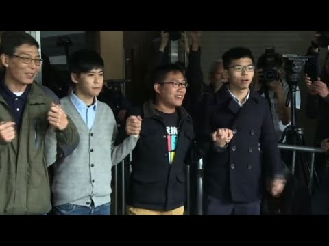 Hong Kong: Joshua Wong, leader prodémocratie, à nouveau condamné