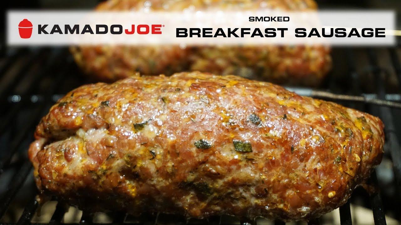 Kamado Joe Smoked Breakfast Sausage