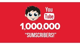 We have 1,000,000 Subscribers!!! | Sub Countdown | Kinder Playtime It's a Toy Party!
