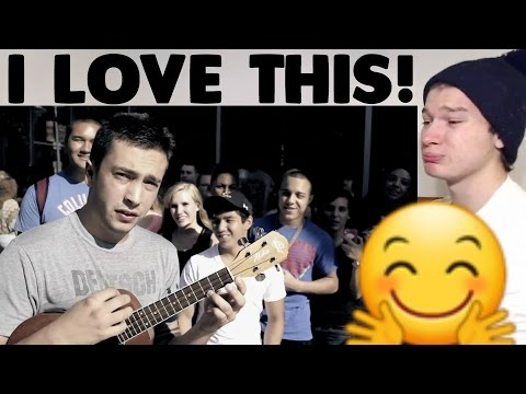 Twenty One Pilots - Can't Help Falling In Love Cover Reaction!