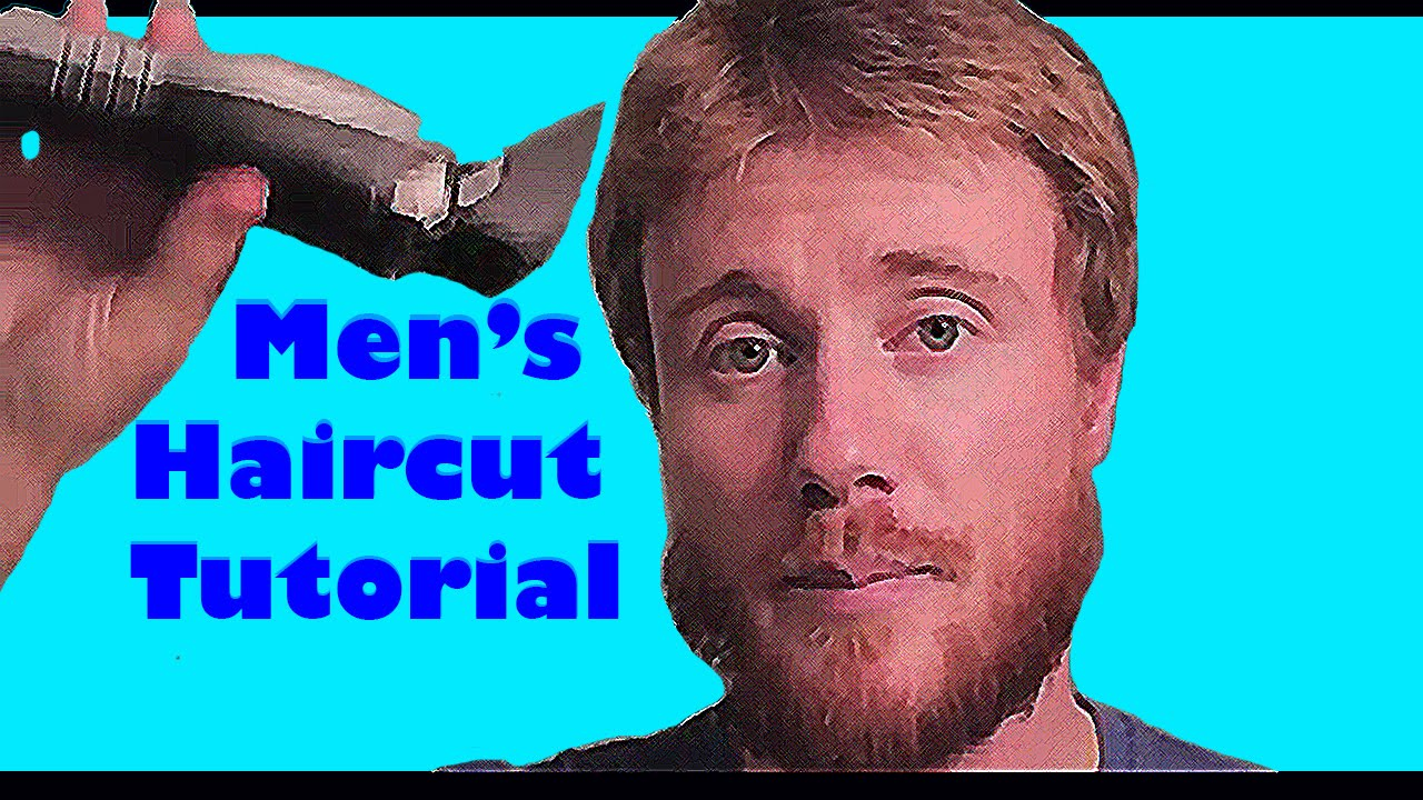 Do It Yourself Mens Hair Cut Tutorial Quick Easy Youtube
