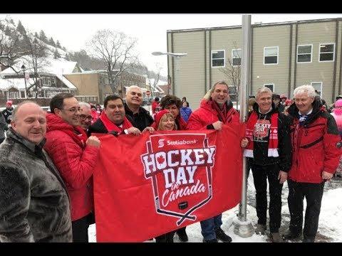 2018 Scotiabank Hockey Day in Canada Opening Ceremonies in Corner Brook City Hall