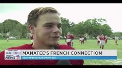 SPECTRUM SPORT 360 LIVE TV - AXEL LEPVREAU STORY - KICKER HIGH SCHOOL JUNIOR CLASS 2020 - MANATEE FB