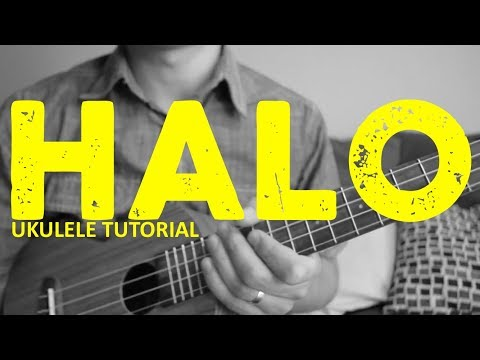 Halo - Beyonce - EASY Ukulele Tutorial - Chords - How To Play