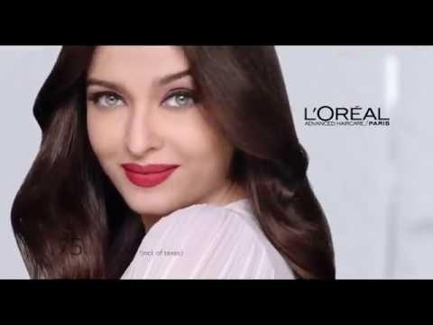 e40362144a1 Aishwarya Rai ♥ L'Oréal Paris Commercial 2016