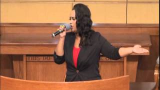 "Amber Bullock Sings ""Same God"" at West End SDA Church in Atlanta, GA"