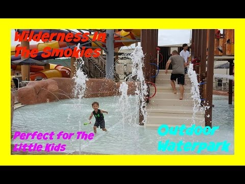 Wilderness In The Smokies! Salamander Springs Outdoor Waterpark Family Fun Vacation