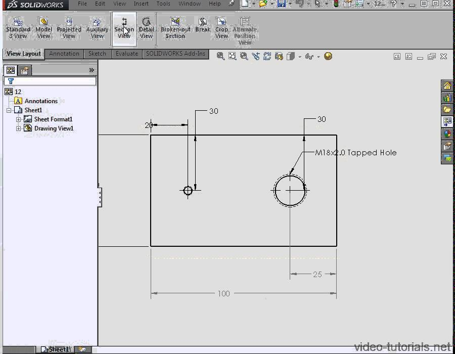 solidworks drawing template tutorial - how to hide show annotations in your drawings solidworks