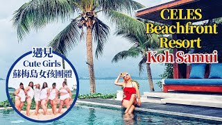 蘇梅島海洋渡假風飯店《Celes Beachfront Resort》獨棟面海 ...