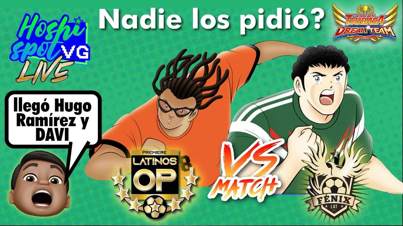 Hugo Ramírez y Davi llegan modestamente - Captain Tsubasa Dream Team - Hoshi Spot Vg Live