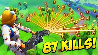 *HACKER* GETS 87 KILLS SOLO! - Fortnite Funny Fails and WTF Moments! #456