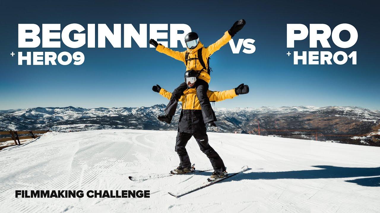 Beginner vs Pro   GoPro HERO9 vs HD HERO   FILMMAKING Challenge in 4K