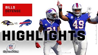 Bills Defense Holds Baltimore to Only 3 Points! | NFL 2020 Highlights